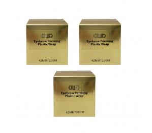 Callas Eyebrow Perming Plastic Wrap 3pcs