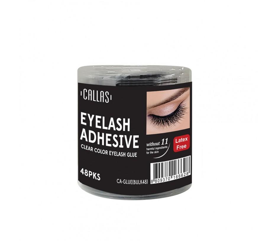 Callas Eyelash Adhesive Clear (1g x 2pcs) 48pcs