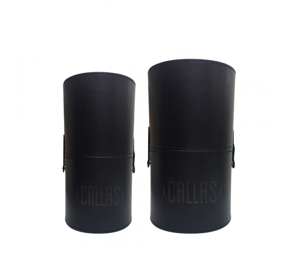Callas Makeup Brush Holder Cylinder Type (2pcs Set)