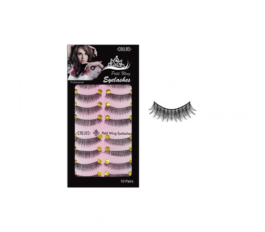 Callas Petit Wing Eyelashces 10 Pairs (CPWL-01)
