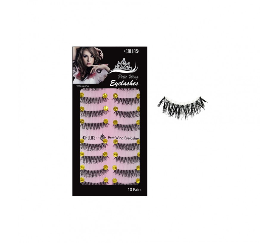 Callas Petit Wing Eyelashces 10 Pairs (CPWL-05)