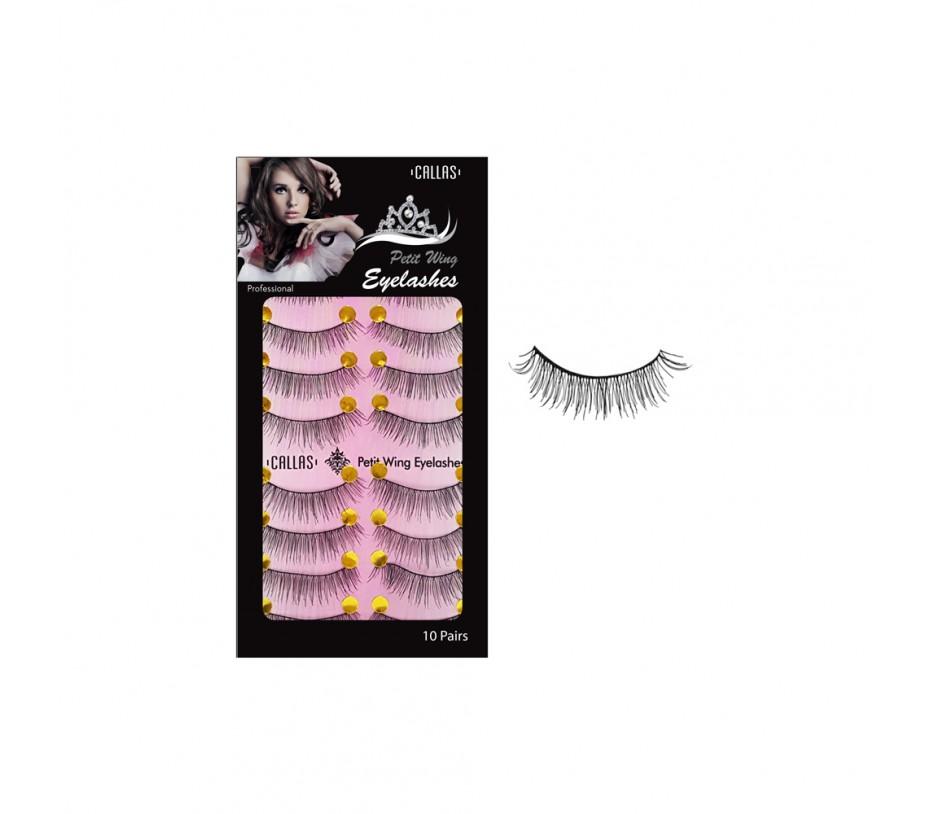 Callas Petit Wing Eyelashces 10 Pairs (CPWL-10)