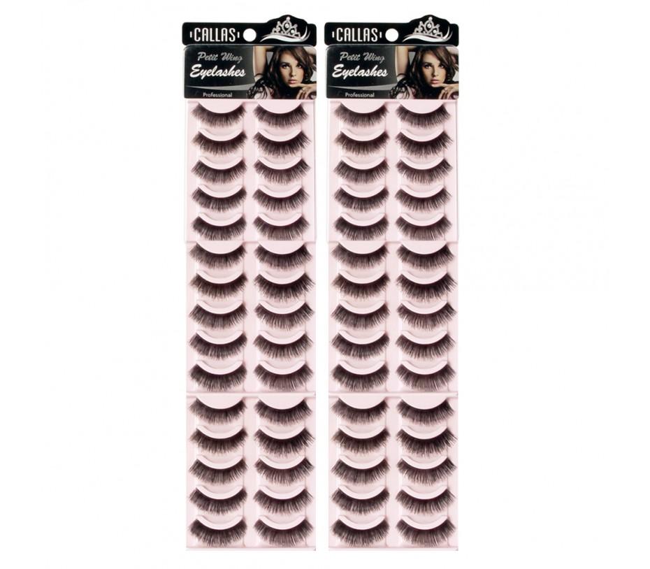 Callas Petit Wing Eyelashes (CWL-03) 5 pairs x 6 Sets