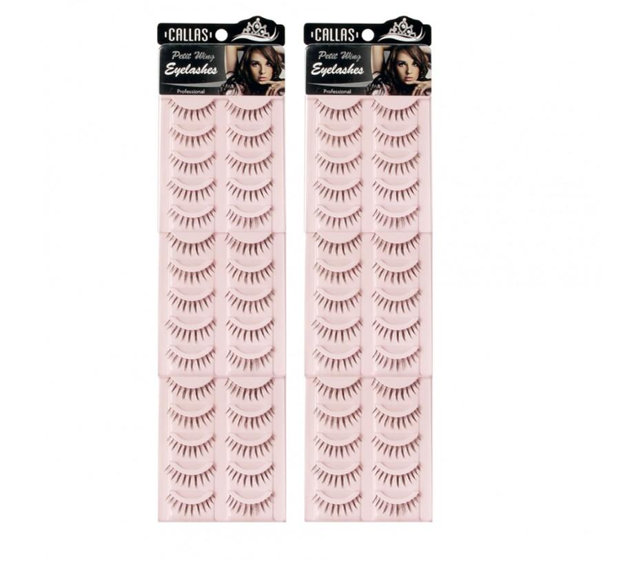 Callas Petit Wing Eyelashes (CWL-05) 5 pairs x 6 Sets