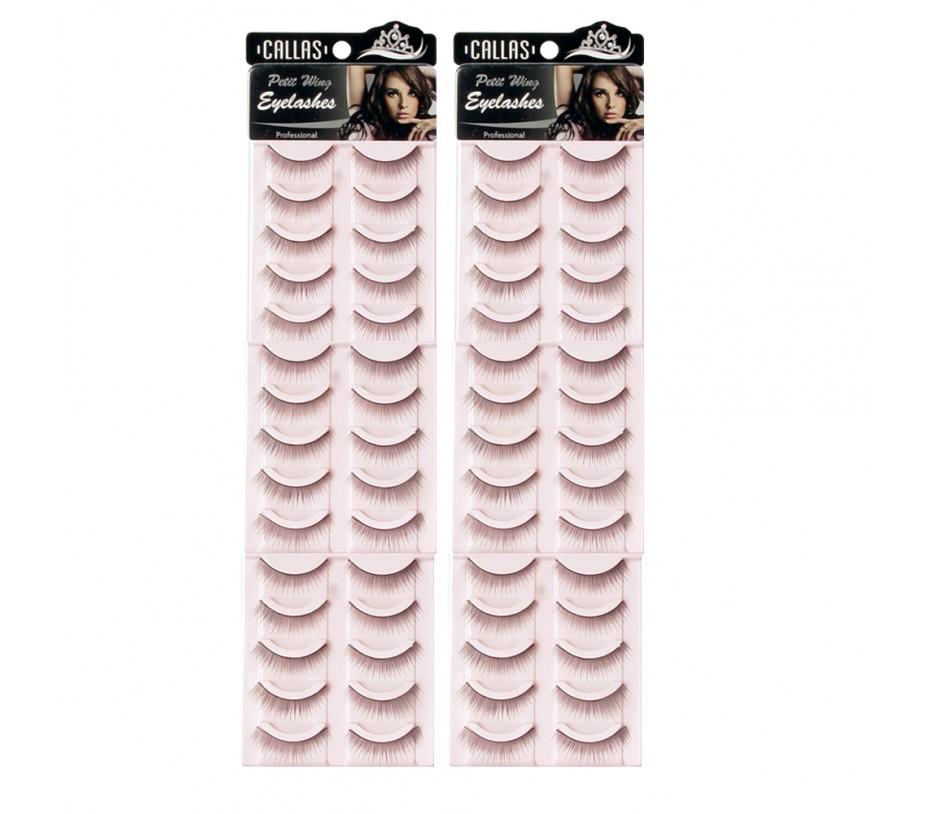 Callas Petit Wing Eyelashes (CWL-06) 5 pairs x 6 Sets