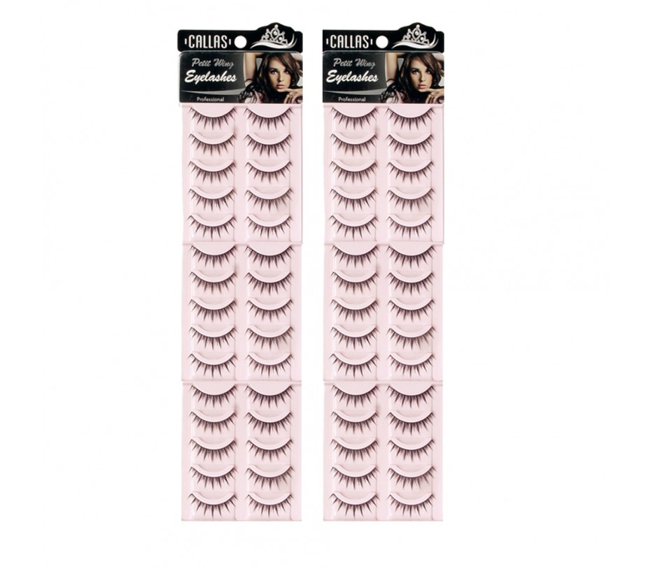 Callas Petit Wing Eyelashes (CWL-07) 5 pairs x 6 Sets