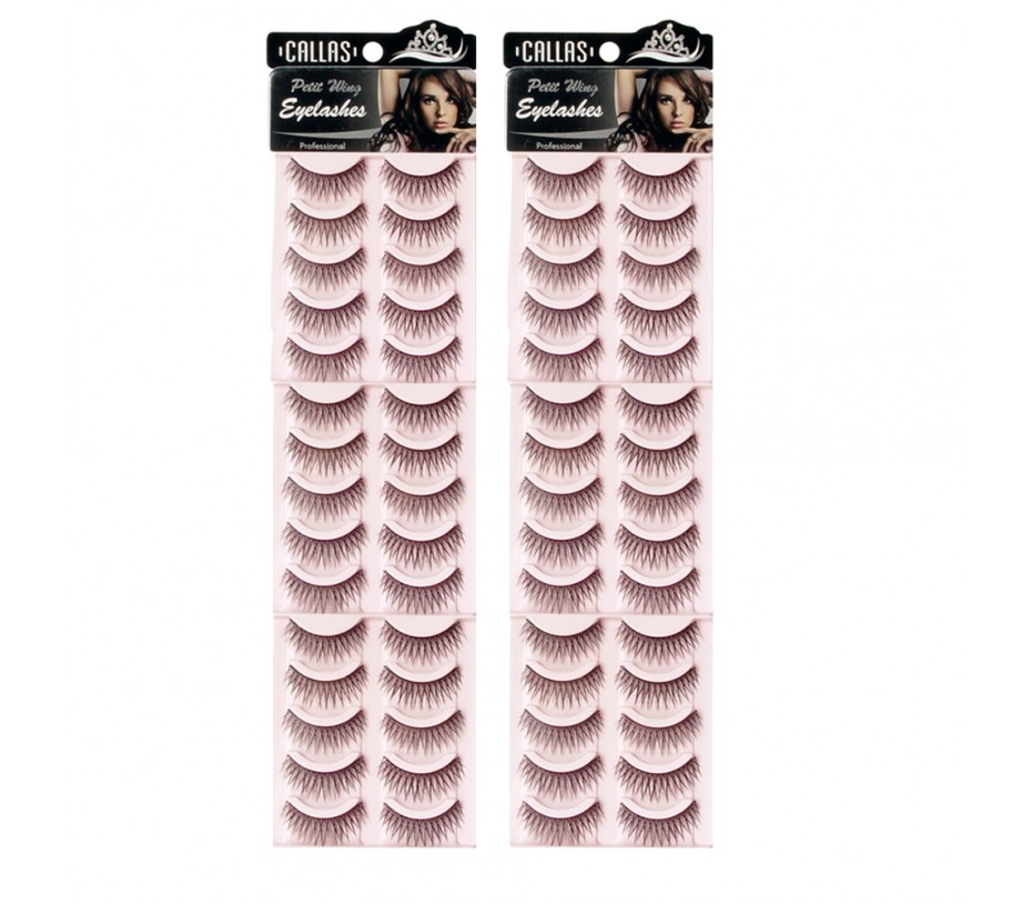 Callas Petit Wing Eyelashes (CWL-09) 5 pairs x 6 Sets