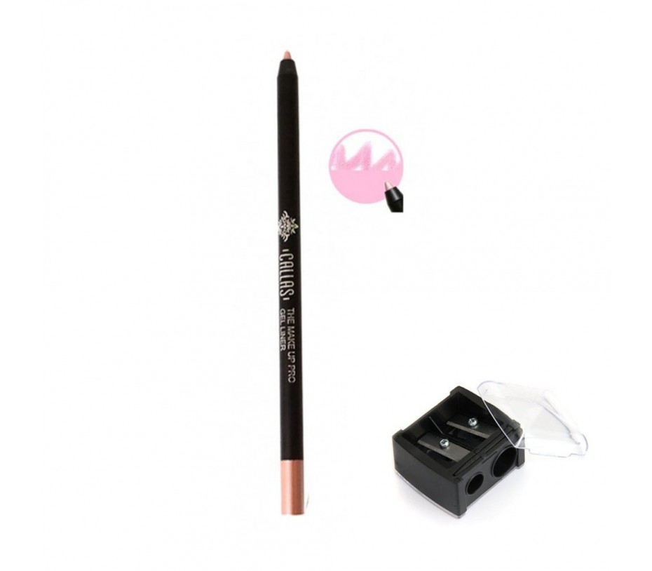 Callas The Make Up Pro Gel Eye Liner (CGE03 Glam Pink) 0.52fl.oz/15.4ml