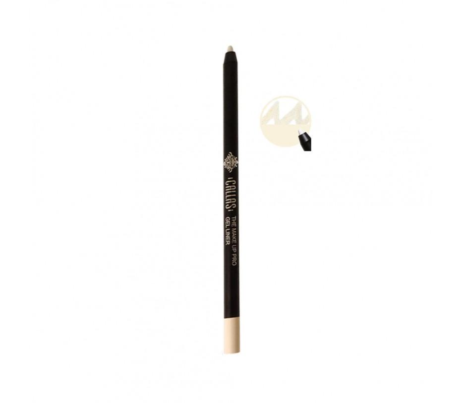 Callas The Make Up Pro Gel Eye Liner (Cream White CGE02) 0.52fl.oz/15.4ml