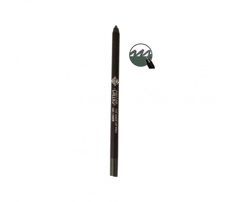 Callas The Make Up Pro Gel Eye Liner (Glam Khaki CGE05) 0.52fl.oz/15.4ml