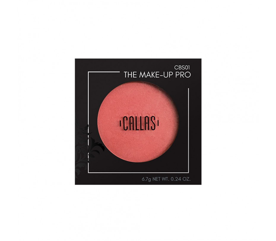 Callas The Make Up Pro Over Blusher (CBS01) .24oz/6.8g