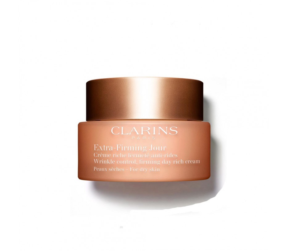 Clarins Extra Firming Jour Wrinkle control, firming day rich Cream for dry skin 1.7oz/50ml