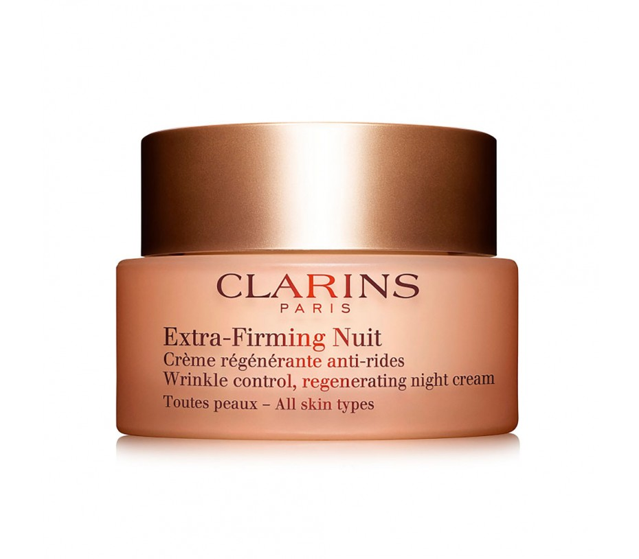 Clarins Extra Firming Nuit Wrinkle control, Regenerating Night Rich Cream (All Skin type) 1.6oz/50ml