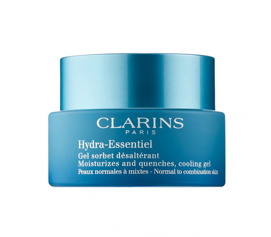 Clarins Hydra Essentiel Moisturizes and quenches, cooling gel (Normal to combinaiton skin)  1.7fl.oz/50ml