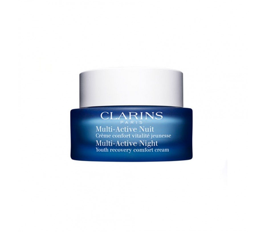 Clarins Multi-Active Night Youth Recovery Comfort Cream (Normal to Dry Skin) 1.7oz/50g