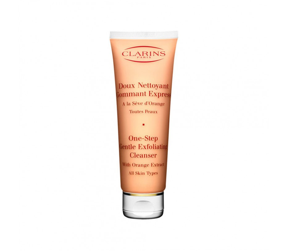 Clarins One Step Gentle Exfoliating Cleanser with Orange Extract (All Skin Types) 4.2oz/119g