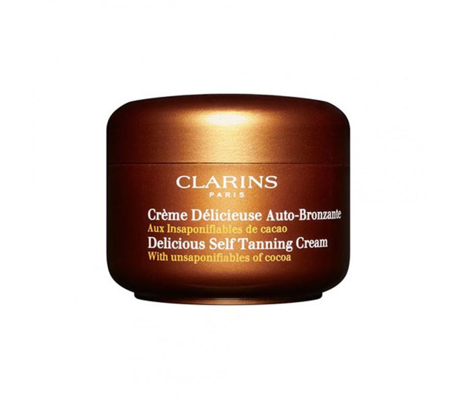 Clarins Sun Delicious Self Tanning Cream 4.2oz/119g