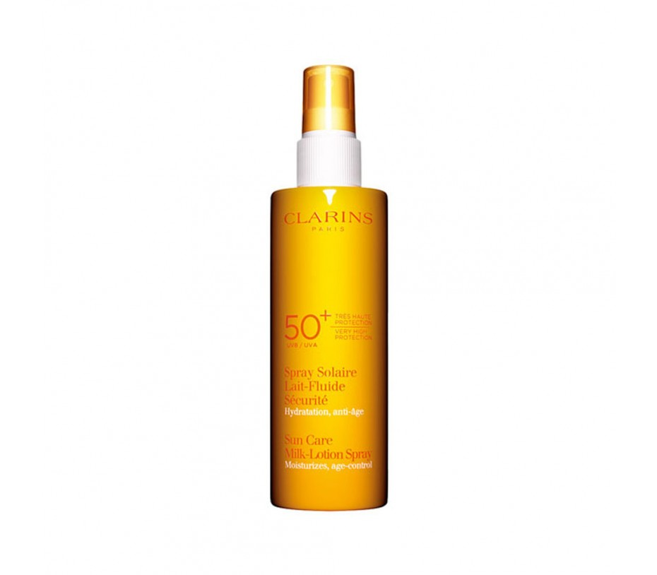 Clarins Sun Sunscreen Care Milk-Lotion Spray SPF 50+ 5.3fl.oz/157ml