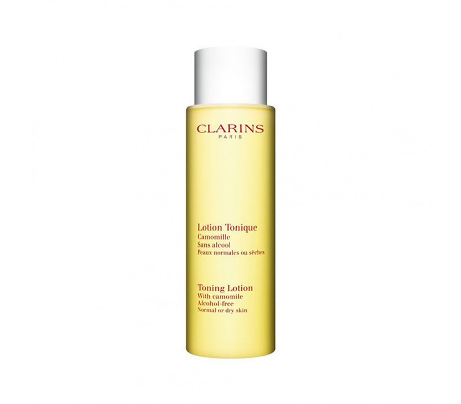 Clarins Toning Lotion Alcohol-Free With Camomile (Dry or Normal Skin) 6.8fl.oz/201ml