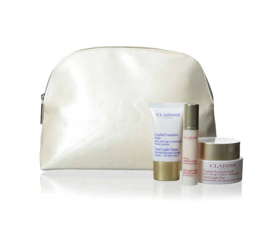 Clarins Vital Light Skin Essentials Set