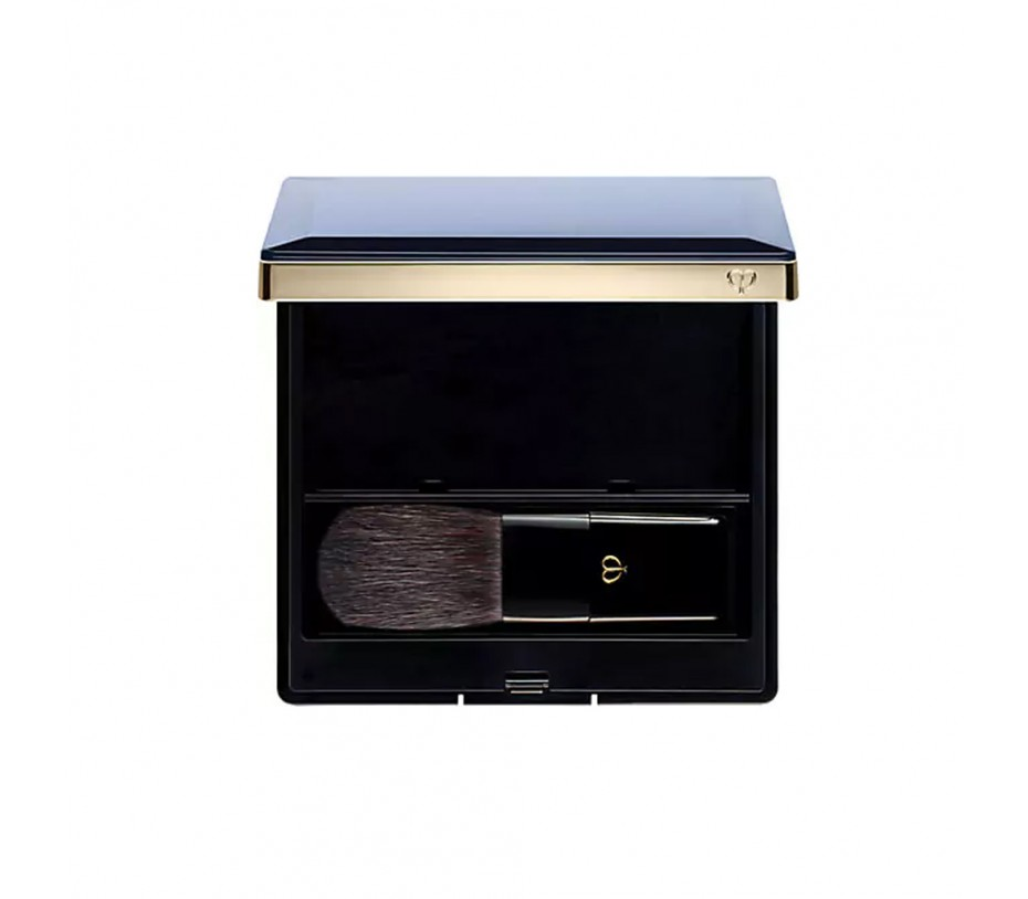 Cle De Peau Beaute Powder Blush Duo Case and Brush