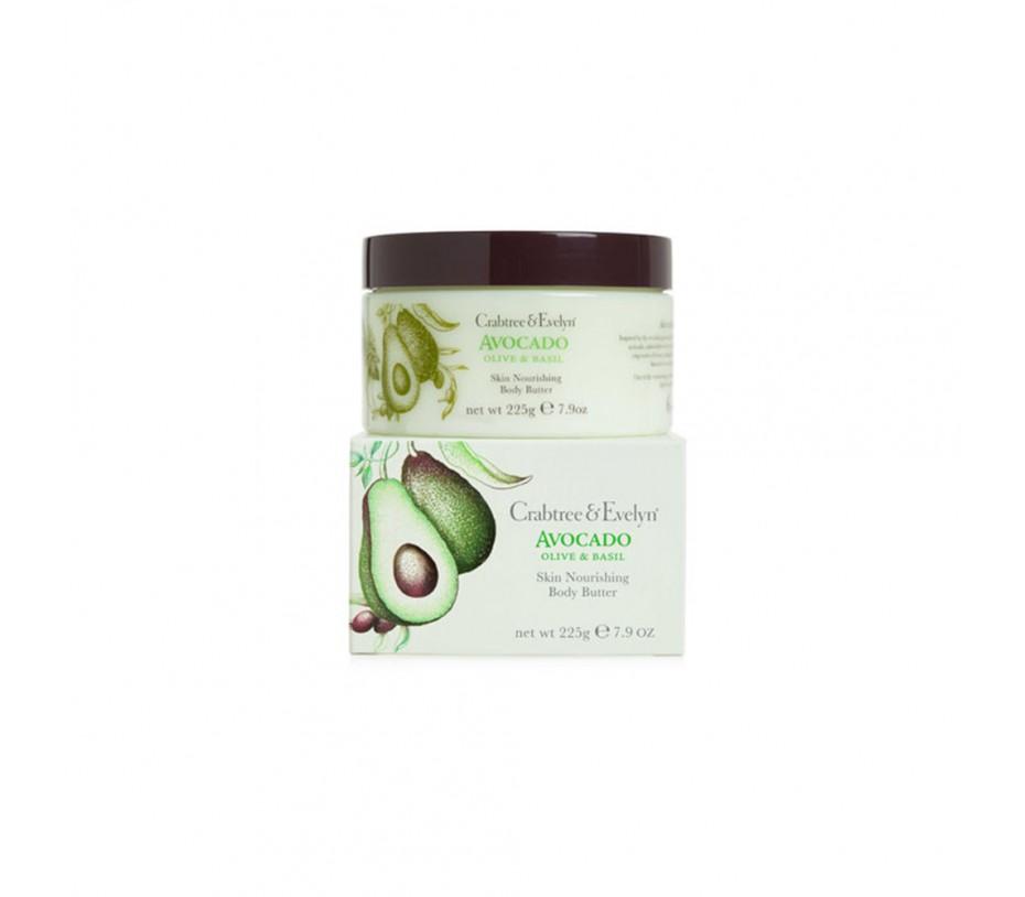 Crabtree & Evelyn Avocado Skin Nourishing Body Butter 7.9oz/225g
