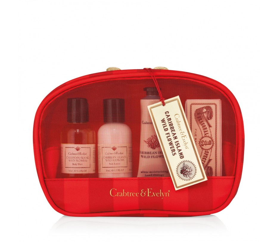 Crabtree & Evelyn Caribbean Island Wild Flowers Traveller