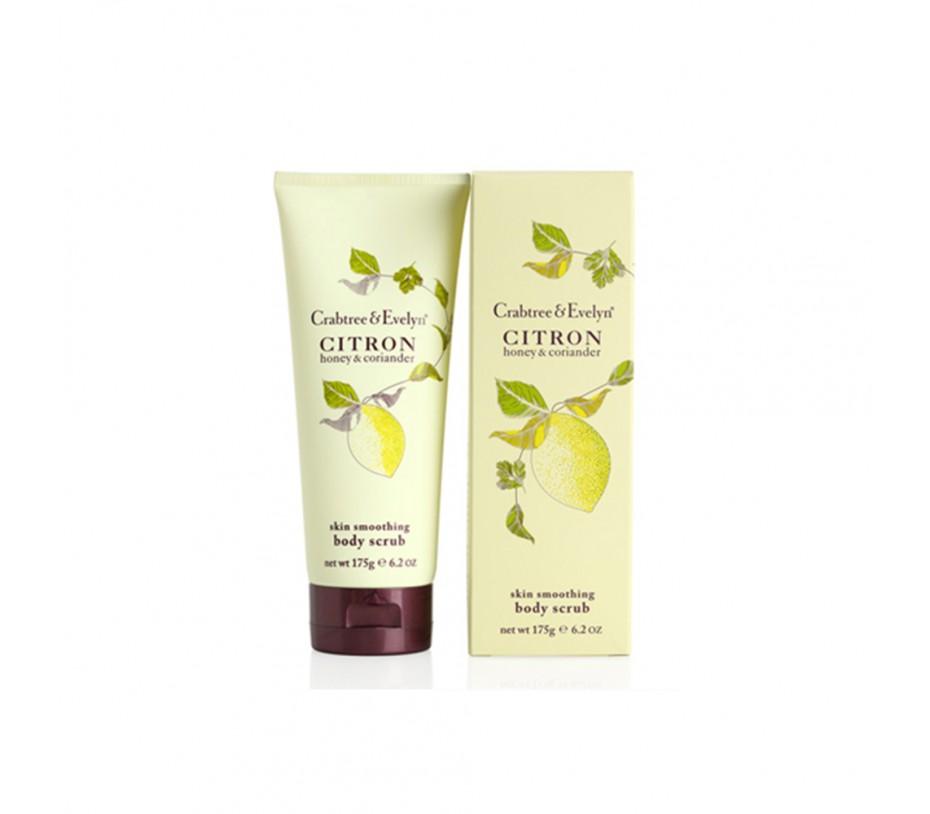 Crabtree & Evelyn Citron Skin Smoothing Body Scrub 6.2oz/175g