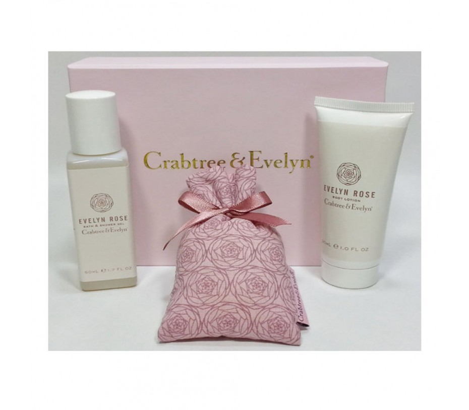 Crabtree & Evelyn Evelyn Rose Gift Set
