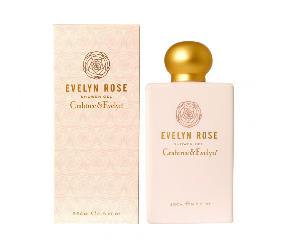 Crabtree & Evelyn Evelyn Rose Shower Gel 8.5fl.oz/250ml