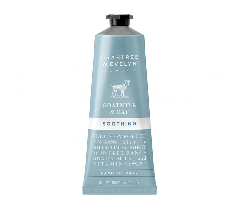 Crabtree & Evelyn Goatmilk & Oak Soothing Hand Therapy 3.45fl.oz/100ml