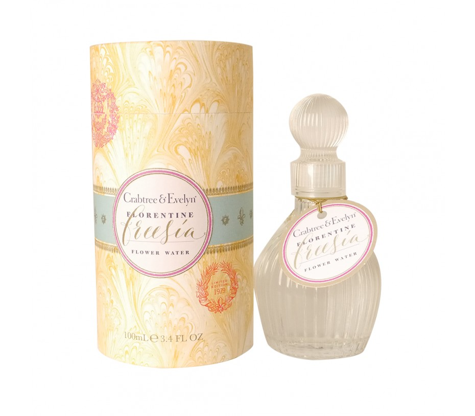 Crabtree & Evelyn Heritage Collection Florentine Freesia Flower Water 3.4fl.oz/100ml