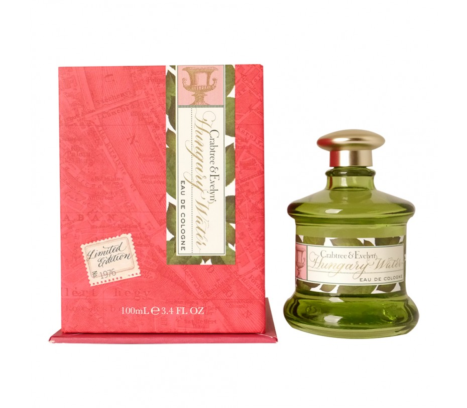 Crabtree & Evelyn Heritage Collection Hungary Water Eau De Cologne 3.4fl.oz/100ml