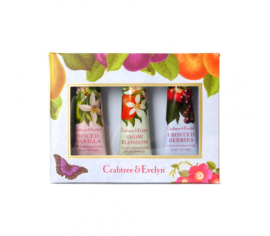 Crabtree & Evelyn Holiday Hand Therapy Trio