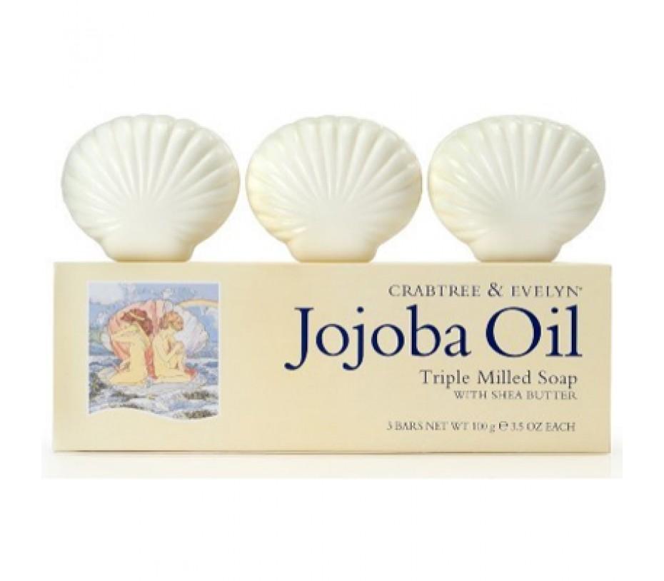 Crabtree & Evelyn Jojoba Oil Triple-Milled Soap Set