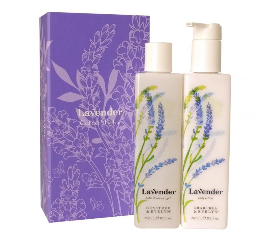 Crabtree & Evelyn Lavender Perfect Pair Set