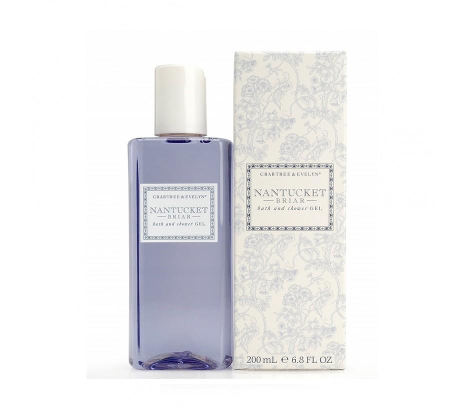 Crabtree & Evelyn Nantucket Briar Bath & Shower Gel 6.8fl.oz/200ml