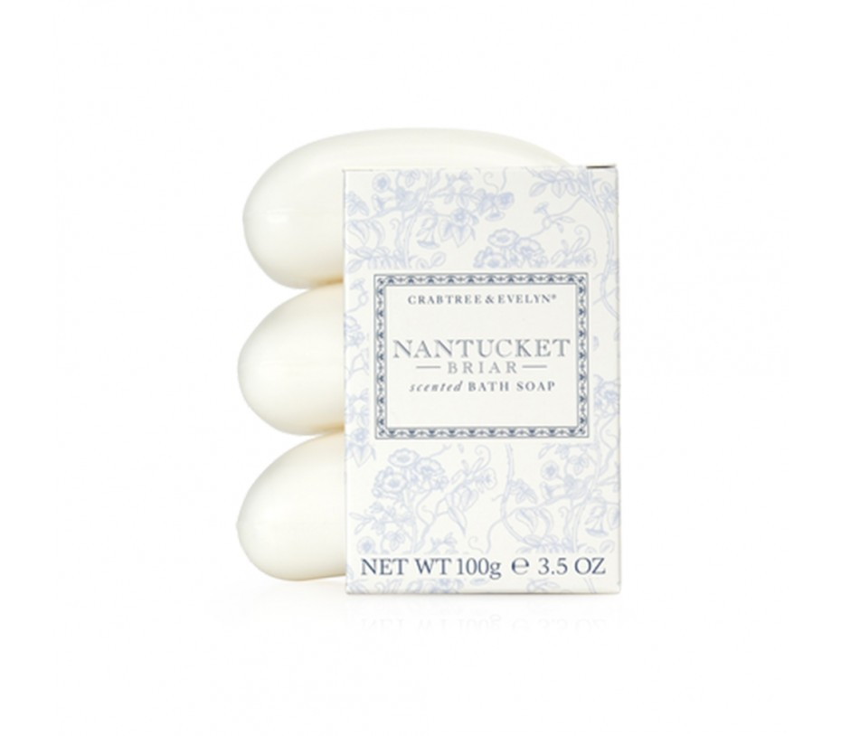 Crabtree & Evelyn Nantucket Briar Triple-Milled Soap Set