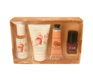 Crabtree & Evelyn Pomegranate Argan & Grapseed Oil Body, Hand & Nail Treats