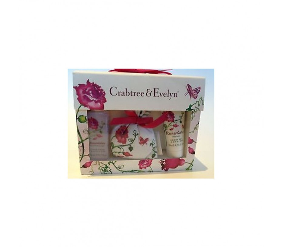 Crabtree & Evelyn Rosewater Rosewater Mini Gift Set