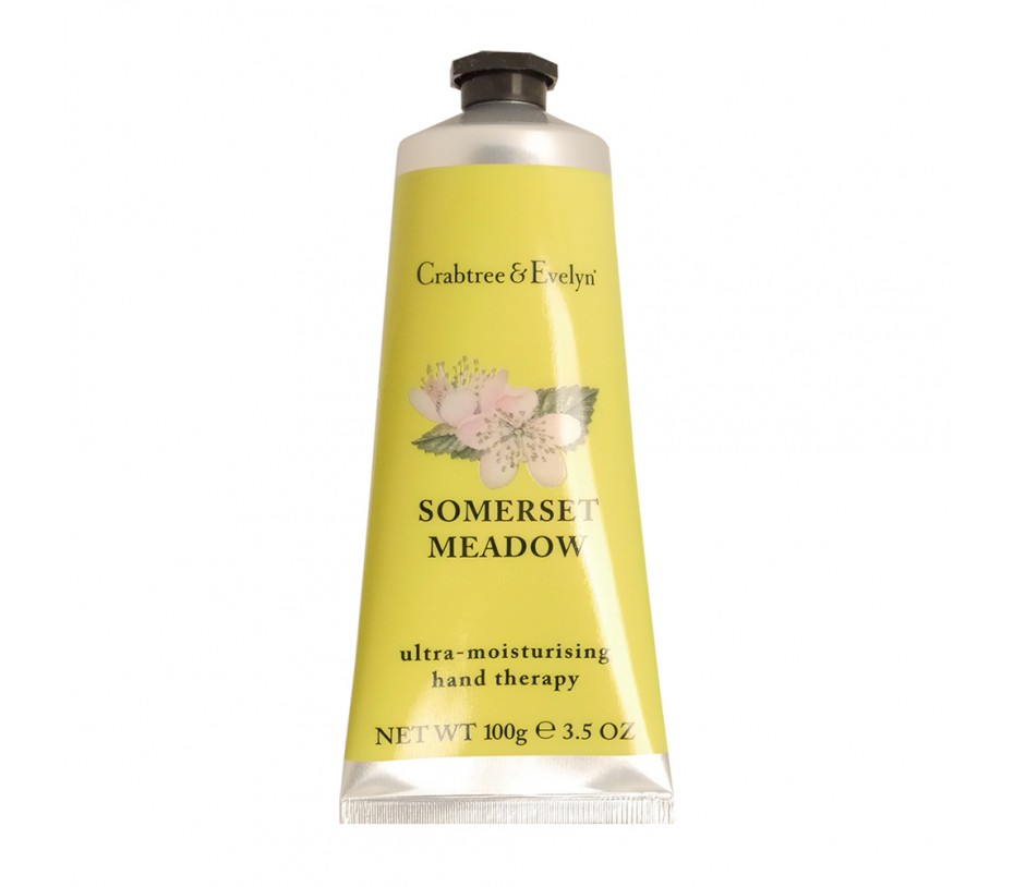 Crabtree & Evelyn Somerset Meadow Ultra-Moisturising Hand Therapy 3.5oz/100g
