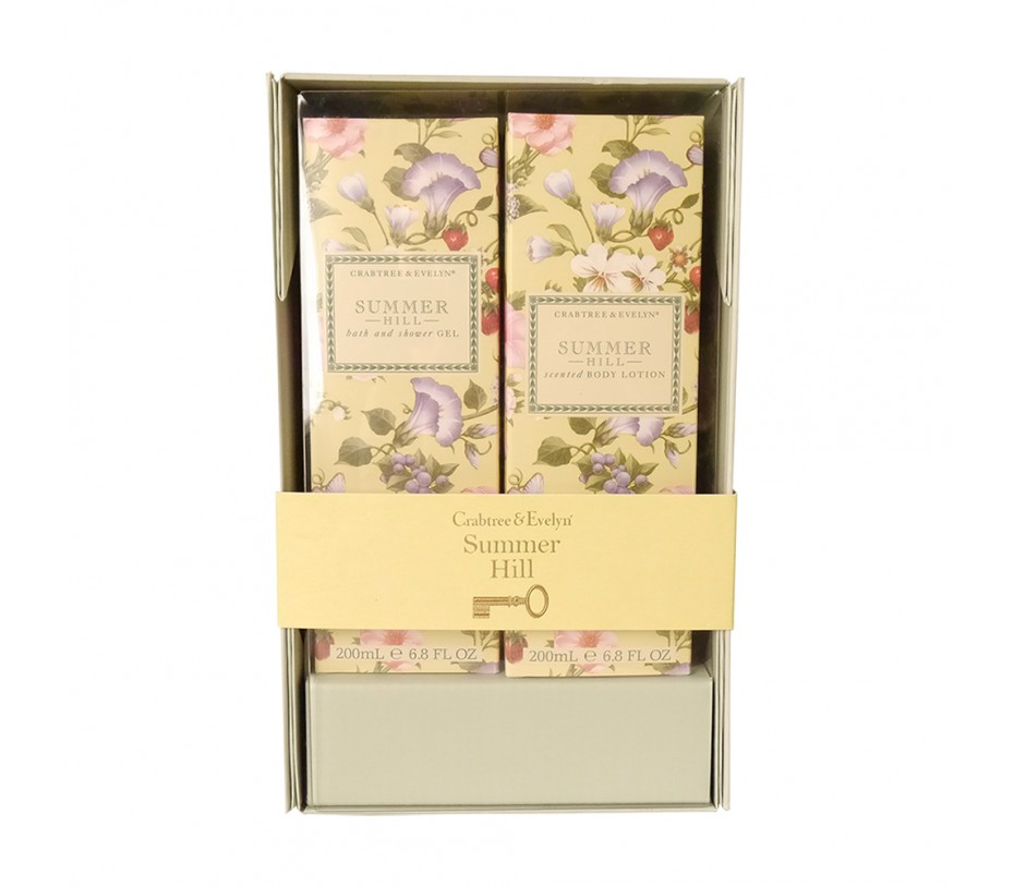 Crabtree & Evelyn Summer Hill Perfect Pair Gift Set 2013