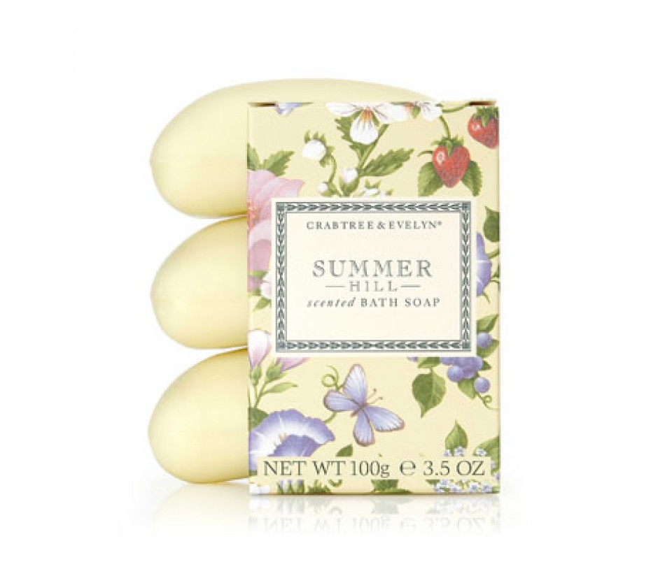 Crabtree & Evelyn Summer Hill Scented Bath Soap