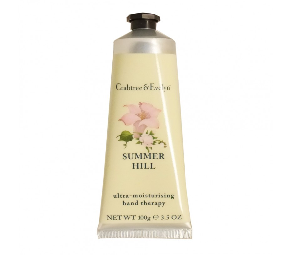 Crabtree & Evelyn Summer Hill Ultra-Moisturizing Hand Therapy 3.5oz/100g