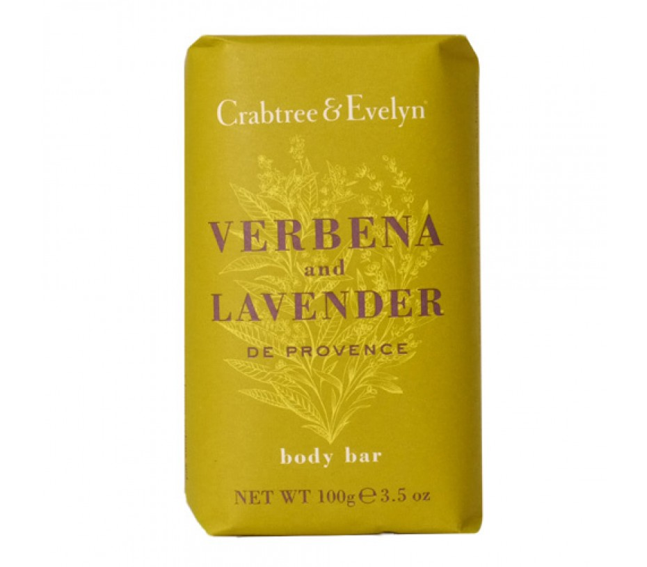 Crabtree & Evelyn Verbana and Lavender Body Bar 3.5oz/99g