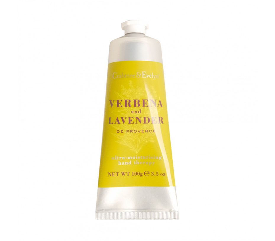 Crabtree & Evelyn Verbana and Lavender Ultra-Moisturizing Hand Therapy 3.5oz/99g