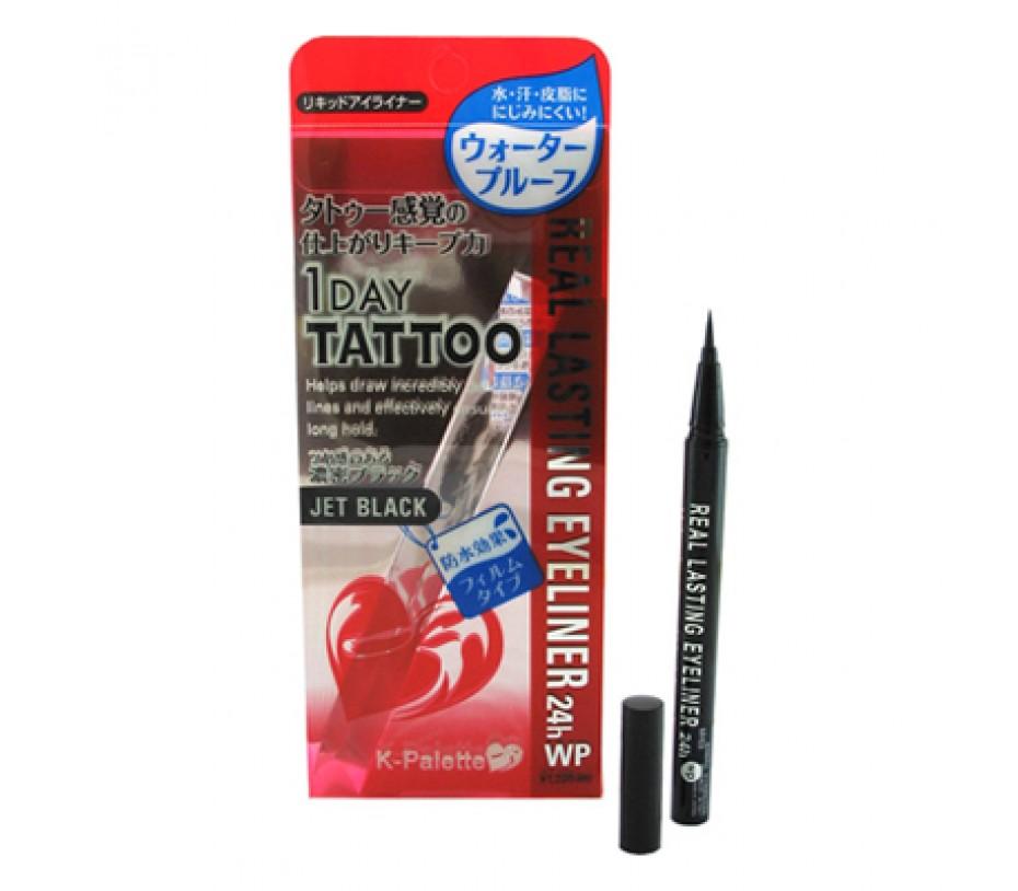 Cuore K-Palette K-Palette 24H Real Lasting Eyeliner (WP 01 Super Black)