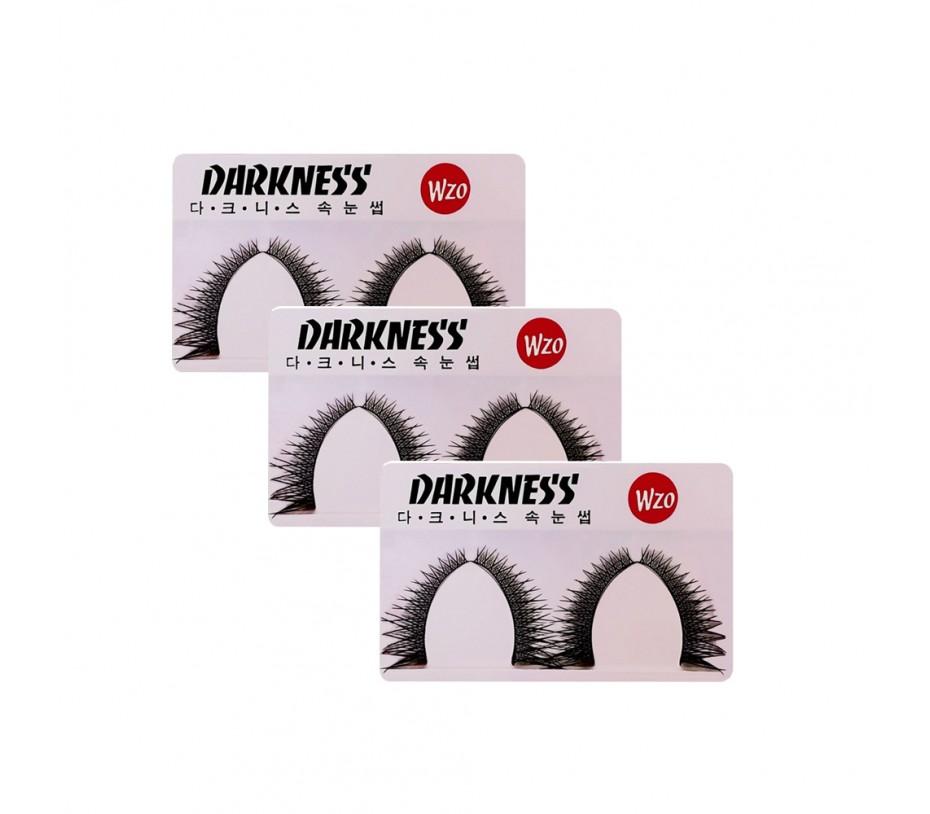 Darkness eyelashes WZO 3pcs