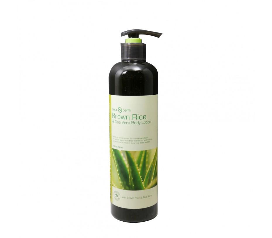Dearderm Brown Rice & Aloe Vera Body Lotion 17.6fl.oz/520ml