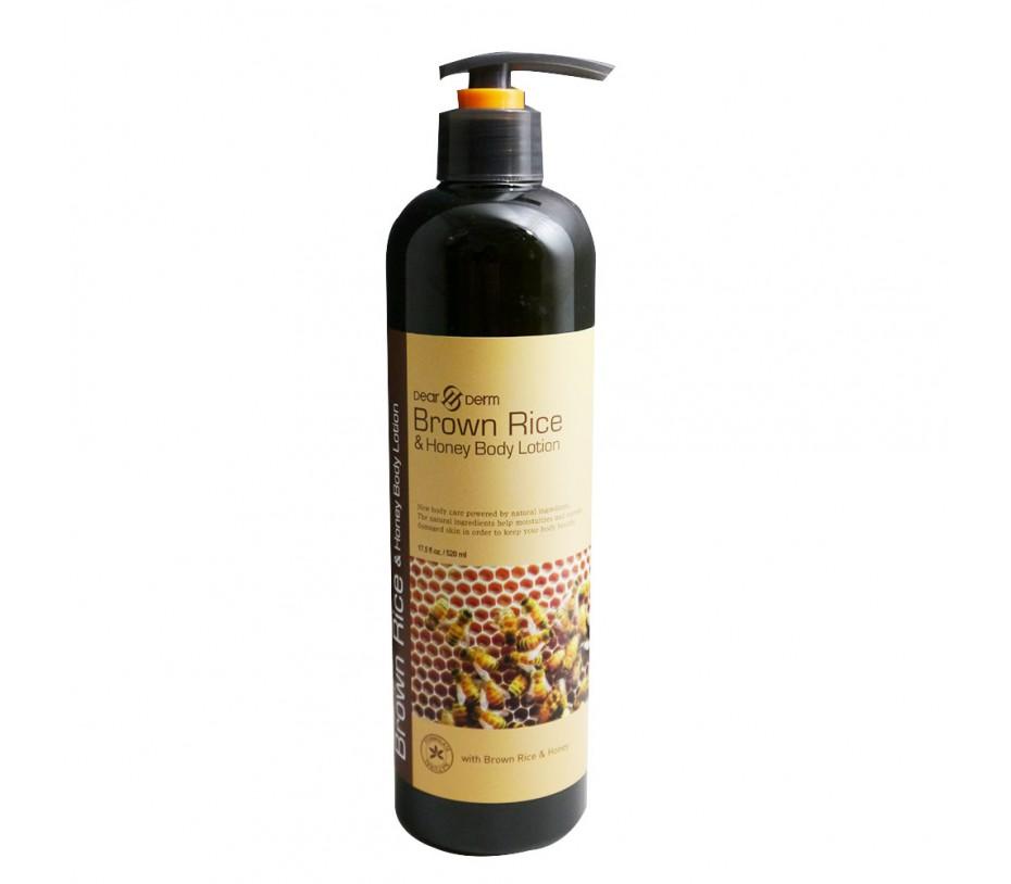 Dearderm Brown Rice & Honey Body Lotion 18.3fl.oz/541ml